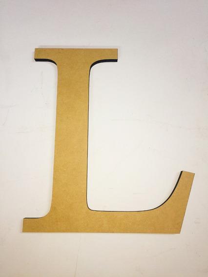 Letra Fibrofacil Grandes 30cm Alto 5.5mm Espesor Corte Láser