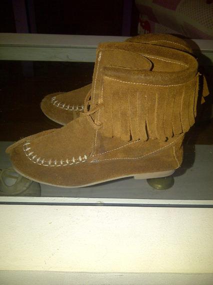 Botas Zapatos Paula Cahen D´anvers Marron Nena Talle 25