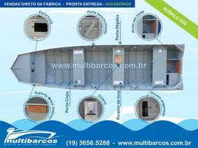 Barco De Alumínio Robalo 500