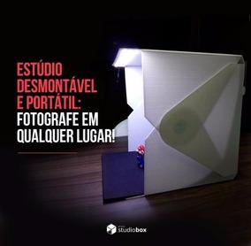 Mini Estúdio Fotográfico 26x26cm - Photo Studio Box.