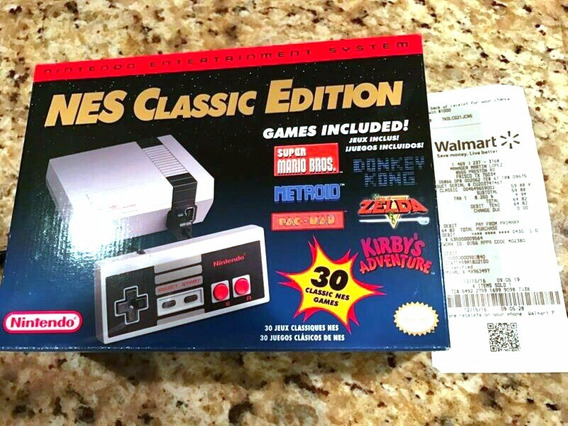 Nintendo Ness Classic Mini Edicion Limitada