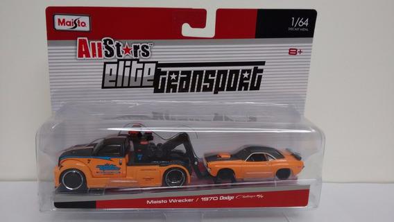 Maisto Elite Transport - Wrecker/1970 Dodge Challenger R/t