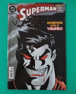 Hq Superman Nº10 Entrevista Com O Vampiro - Mulher Maravilha