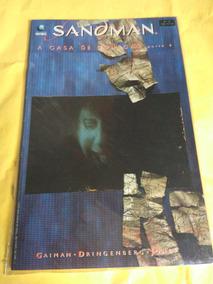 Hq Sandman A Casa Das Bonecas Parte 4 - Editora Globo