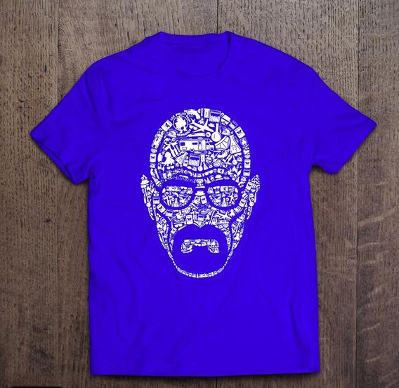 Camisetas Breaking Bad Walter White Personalizada Geeks Nerd