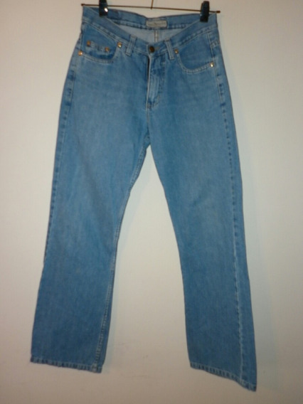 Pantalon Jean Design On Talle 40 Unisex