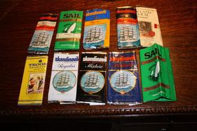 Lote De 10 Marquillas Sin Tabaco Para Pipa - Década Del 80