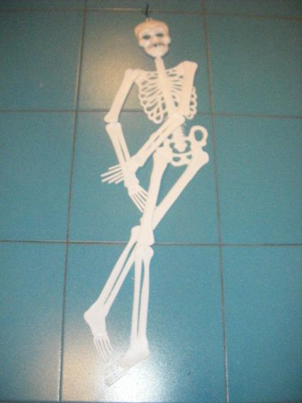 Adorno Colgante Esqueleto Articulado Halloween Fiesta