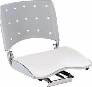 Cadeira Barco Giratória Dobravel Assento Almofadado (0312)