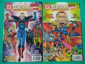 Hq Dc Versus Marvel Serie Dois 01 E 04 R$ 20,00 Cada! Abril