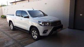 Sucata Toyota Hilux Srv 2016 Diesel Para Retirada De Peças
