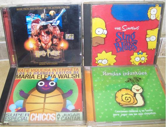 Lote 5 Cds Musica Infantil - Excelente Estado -