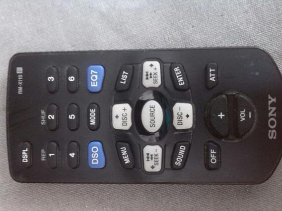 Controle Remoto Aitomotivo Sony Rmx-118