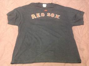 Playera Majestic Red Sox Talla L