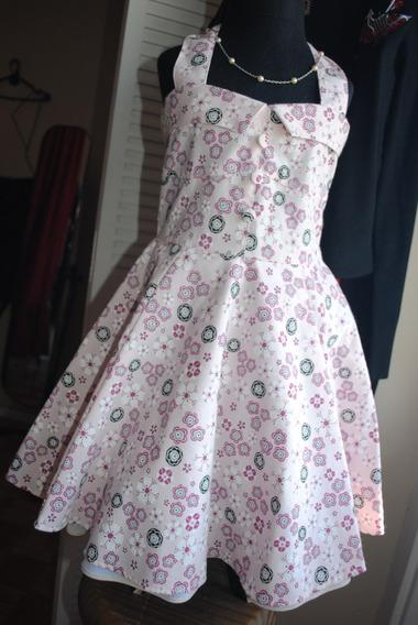 Vestido Rockabilly Vintage Pinup Niña
