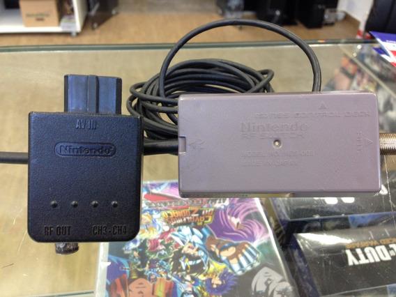 Cabo Rf Original Nintendo Snes N64 Gamecube + Adaptador