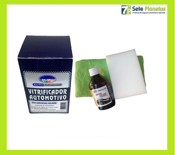 Vitrificação Automotiva Crystal Glaze 150ml Vitrificador Kit