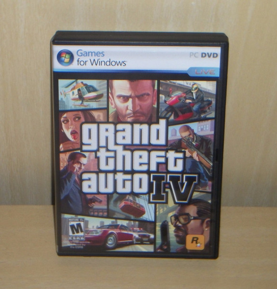 Gta 4 / Grand Theft Auto Iv - Pc