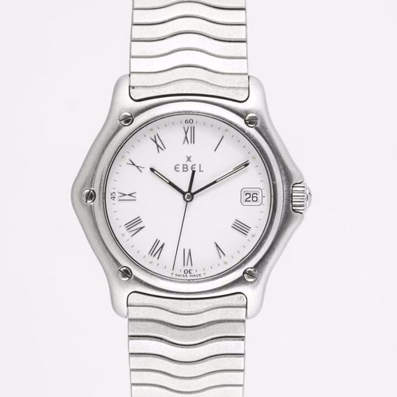 Relógio Ebel Wave 1911 Quartz Aço Safira Excelente Rigmary
