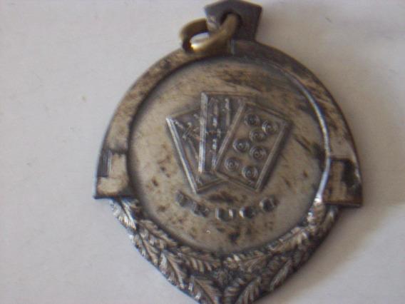 Antigua Medalla Campeonato De Truco 1950