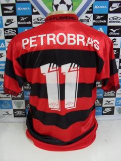 Flamengo De Jogo Nº11 Veludo Romário Tam. G Original Umbro