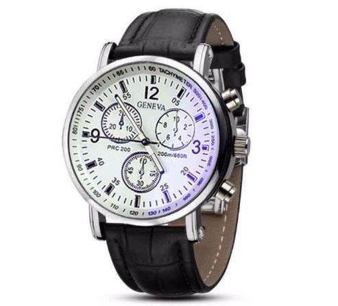 Relógio Geneva Importado Design E Luxo