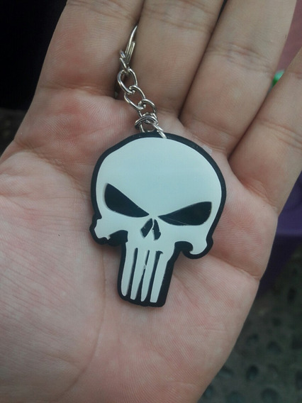 Llavero Acrilico Punisher Marvel Netflix