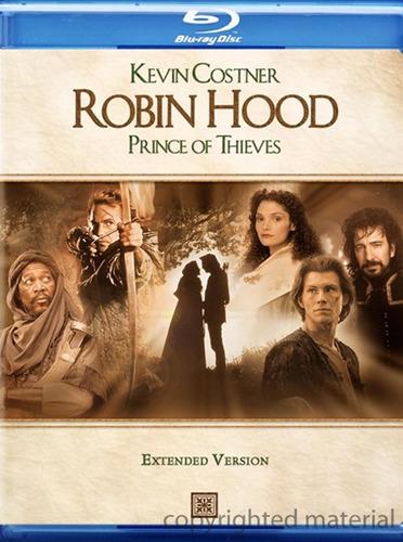 Blu-ray Robin Hood Prince Of Thieves / Version Extendida