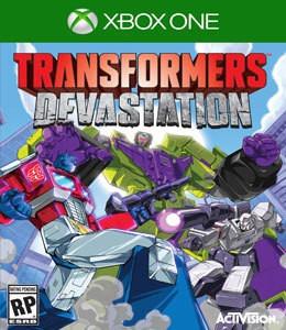 Jogo Novo Lacrado Transformers Devastation Para Xbox One