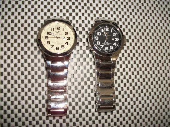 Relógio Suiço Royal Swiss,novo Cronos Funcionais Quartz