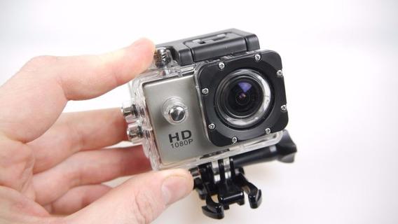 Camera Filmadora Full Hd Sport Cam 1080 Prova Dagua Original