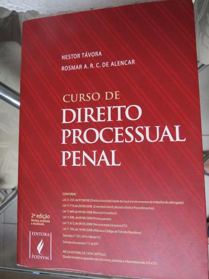 Curso De Direito Processual Penal - Nestor Távora - 2ª Ed.