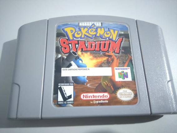 Pokemon Stadium Nintendo 64 Original Funciona 100%!