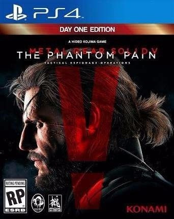 Metal Gear V The Phantom Pain Psn Ps4 Digital