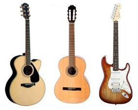 Clases De Guitarra Y Bajo. Profesor, Almagro 1ª Clase Gratis