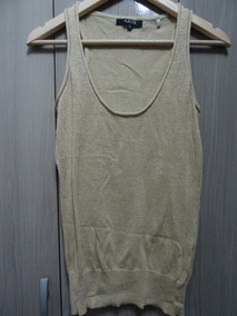 Blusa Polo Camisa Dorada Zara