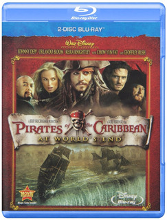 Blu-ray Pirates Of The Caribbean 3 / Piratas Del Caribe 3