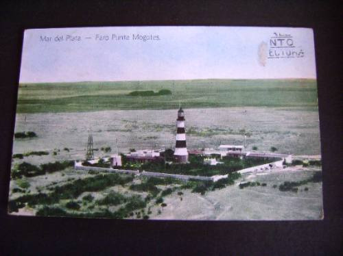 Tarjeta Postal Antigua Mar Del Plata 1939