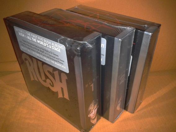 Rush - Sector 1 [ Boxset Remastered 5 Cd + 1 Dvd 5.1] Novo
