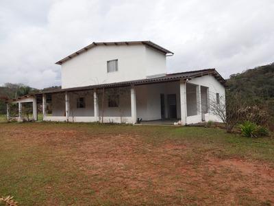 Sitio De 45300 M² De Terreno Com 2 Casas Em Salesópolis - Sp