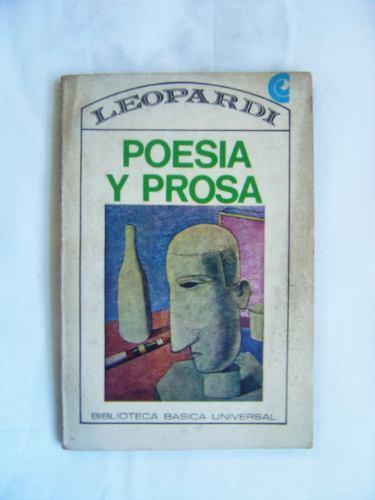Poesía Y Prosa / Giacomo Leopardi (ed. Ceal)