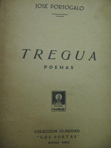 Tregua Poemas Jose Portogalo   Mercado Libre
