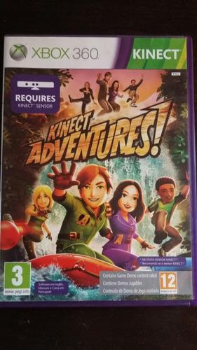 Imagen 1 de 3 de Juego Xbox 360 Original Kinect Adventures! Para Kinect!