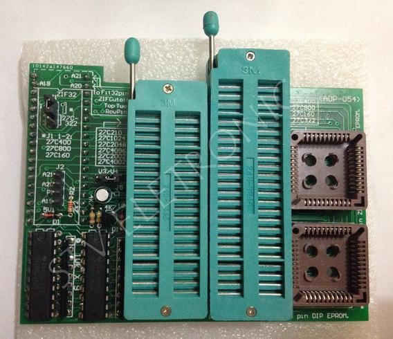 Prog Gravador Gq-4x Willem True Usb Usado C/ 04 Adaptadores