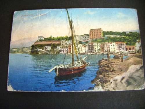 Tarjeta Postal Antigua Italiana 1923