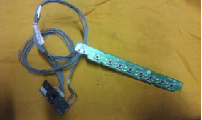 Teclado Sensor Remoto Tv Lcd Lg 32lk330