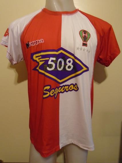 Camiseta Fútbol Huracán Kappa 2007 2008 Con Detalles T. M
