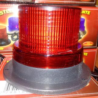 Baliza Led Roja 12 Volts Intermitente P/ Vehiculos Seguridad