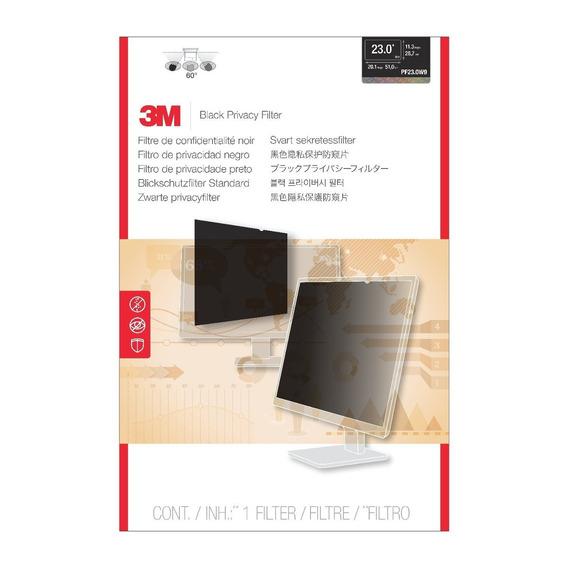 Filtro De Privacidade 3m Pf23.0w9 Wide 23 510mm X 287mm
