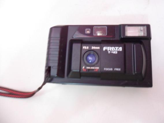 Antiga Câmera Fotográfica Frata No Estado Nao Funciona